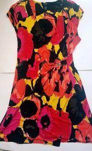 Alfani floral dress size LP